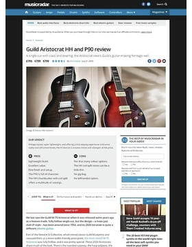 Guild Aristocrat HH and P90
