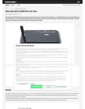 Stairville WLS-DMX Pro G5