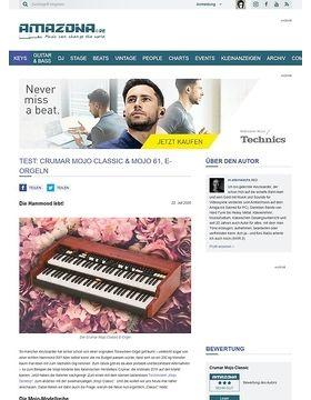 Crumar Mojo Classic, Mojo Desktop & Mojo 61