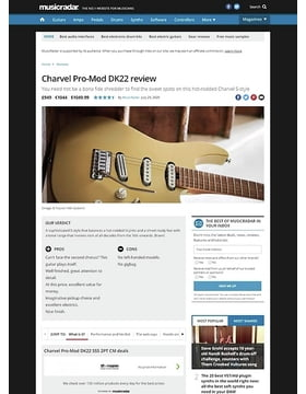 Charvel Pro-Mod DK22