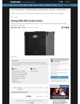 Peavey MAX 300 Combo