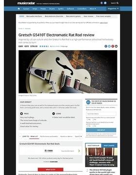 Gretsch G5410T Electromatic Rat Rod