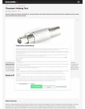 Thomann FetAmp