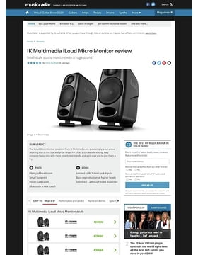 IK Multimedia iLoud Micro Monitor