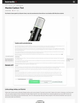Mackie EM-Carbon