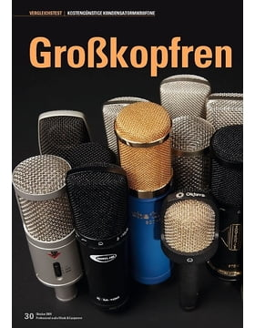 Großkopfrennen: 15 Großmembran-Mikrofone