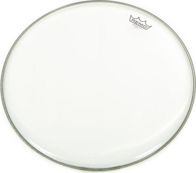 "Remo 18"" Ambassador Clear Bass Drum"