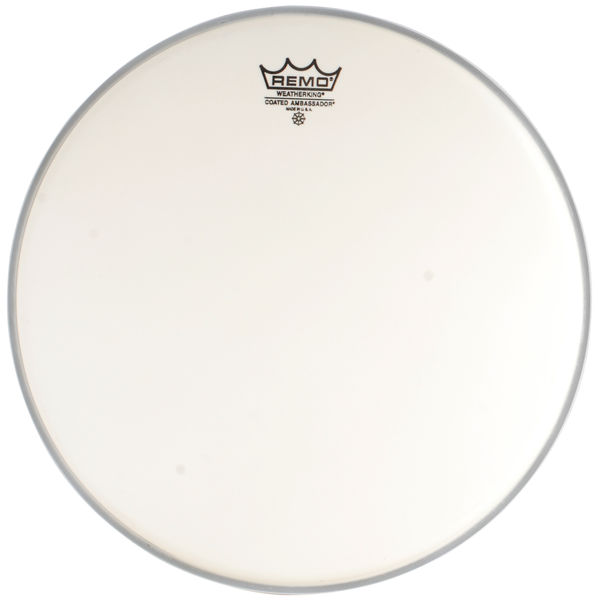 "Remo 14"" Ambassador Coated"