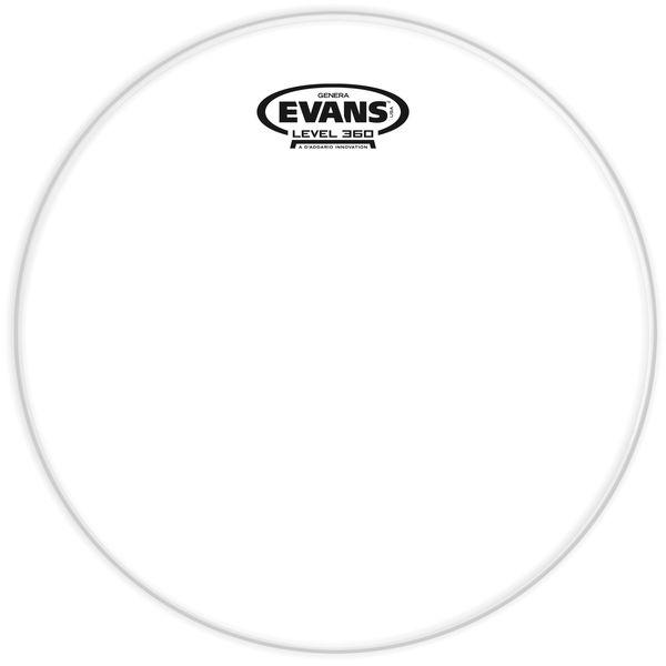 "Evans 12"" Resonant Head Tom Clear"