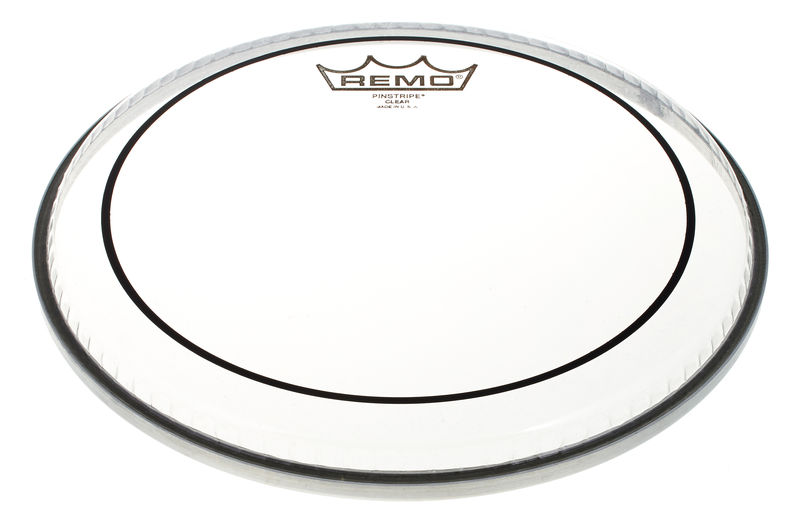 "Remo 10"" Pinstripe Clear"