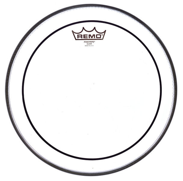 "Remo 12"" Pinstripe clear"