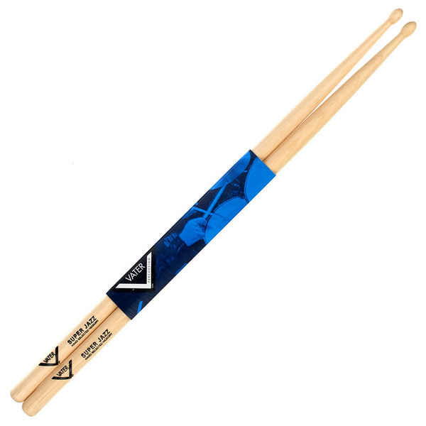 Vater Super Jazz Hickory Sticks Wood