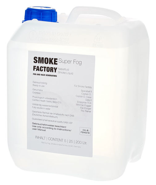Smoke Factory Super Fog Fluid 5L