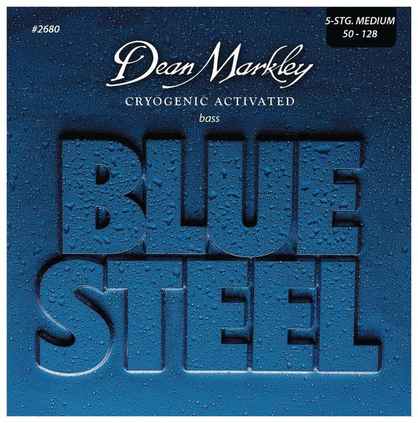 Dean Markley 2680 Blue Steel 5 Bass MED