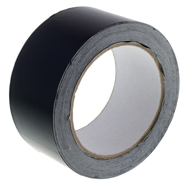 Stairville Black Foil Tape 25m