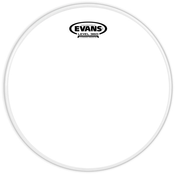 "Evans 12"" G1 Powercenter Snare -Down"
