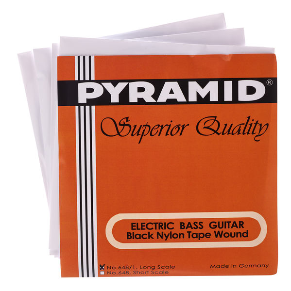 Pyramid Black Tape Nylon Set 648/1