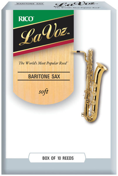 DAddario Woodwinds La Voz Baritone Saxophone S