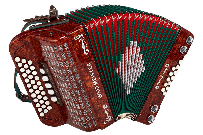 Weltmeister 620 Styrian Harmonica