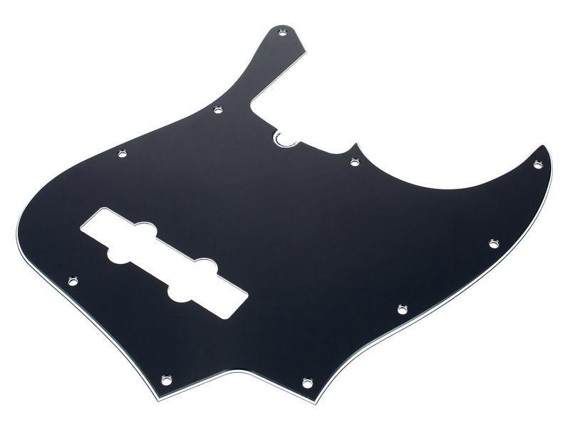 Fender JPickguard 10hole 3ply BK