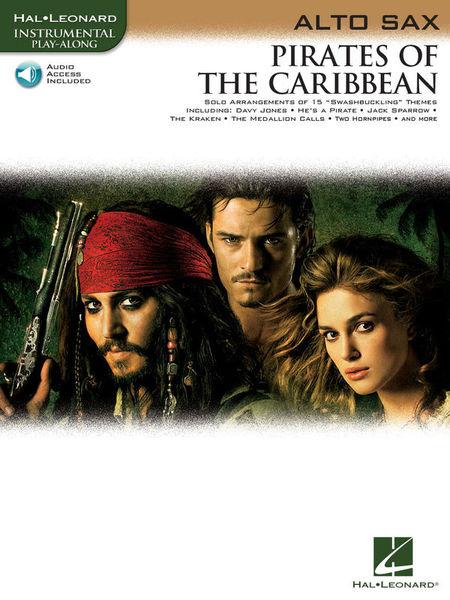 Hal Leonard Pirates Of The Caribbean A-Sax