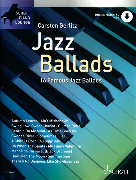 Schott Jazz Ballads for Piano