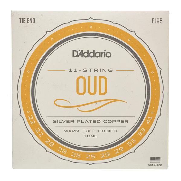 Daddario EJ95 Oud Silver Plated Copper