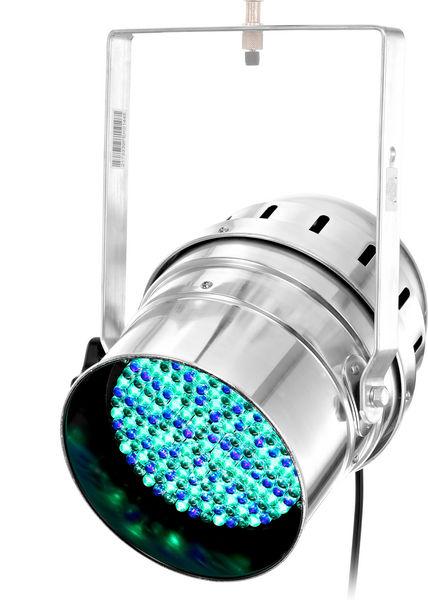 Stairville LED PAR 64 10mm RGB silver