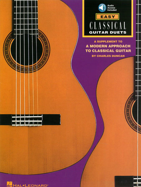 Hal Leonard Easy Classical Guitar Duets
