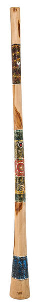 Thomann Didgeridoo Teak 150cm painted