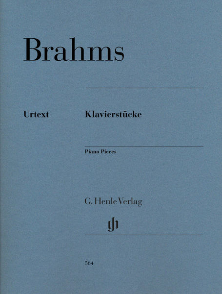 Henle Verlag Brahms Klavierstücke