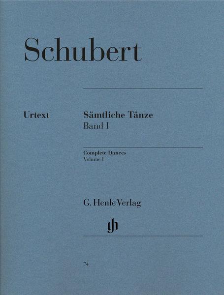 Henle Verlag Schubert Sämtliche Tänze 1