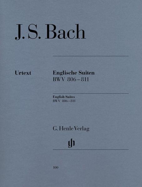 Henle Verlag Bach Englische Suiten
