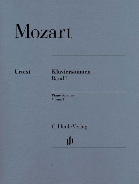 Henle Verlag Mozart Piano Sonatas 1