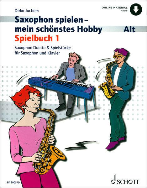Schott Saxophon Spielbuch 1 A-Sax