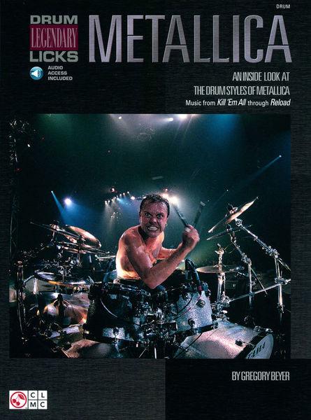 Cherry Lane Music Company Metallica Licks Drums