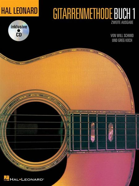 Hal Leonard Gitarrenmethode 1 + CD