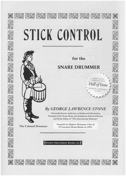 Alfred Music Publishing Stick Control Snare Drummer