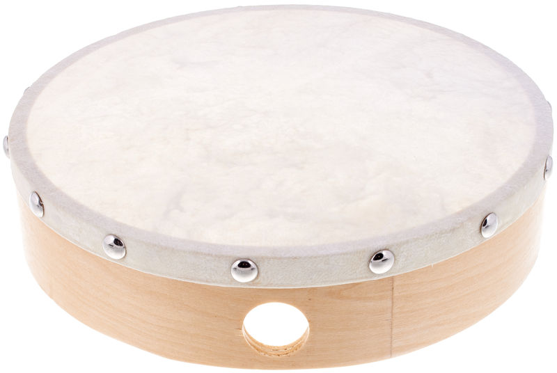 "Millenium 8"" Frame Drum Natural Skin"