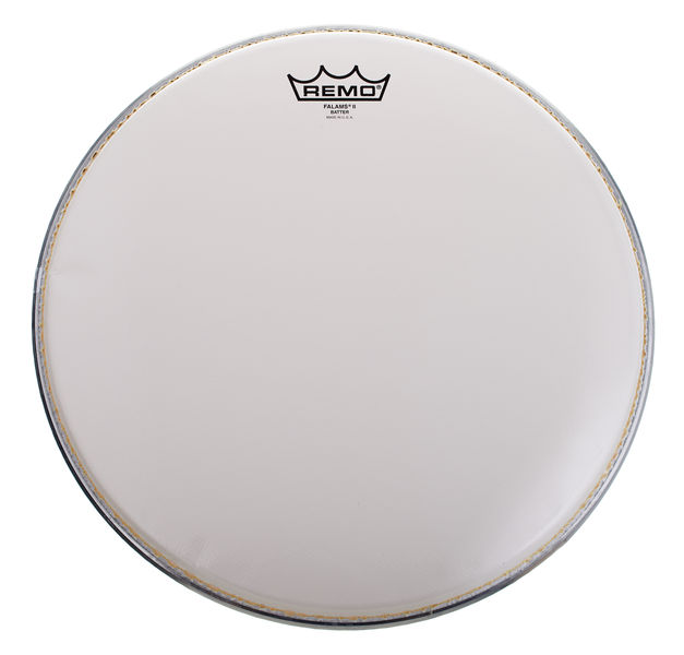 """Remo 14"""" Falam K Snare White Smooth"""