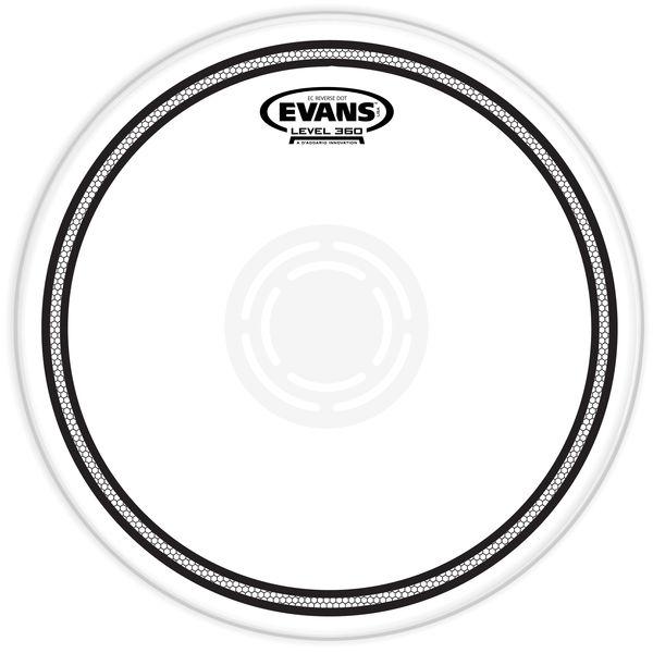 "Evans 14"" EC Edge Control Snare RD"