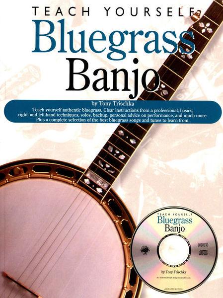 Oak Publications Teach Yourself Bluegrass Banjo