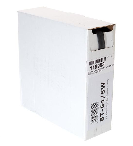 Sommer Cable Shrinktube Box 6,4mm black