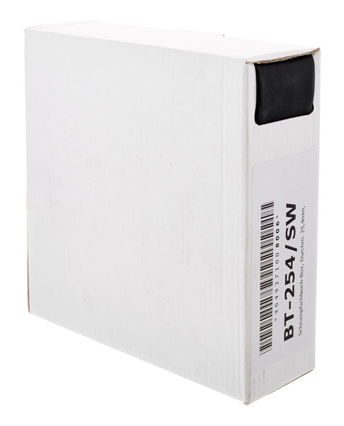 Sommer Cable Shrinktube Box 25,4mm black