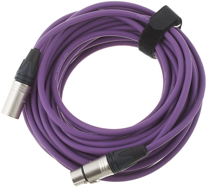 pro snake 17900 Mic Cable 15 violet