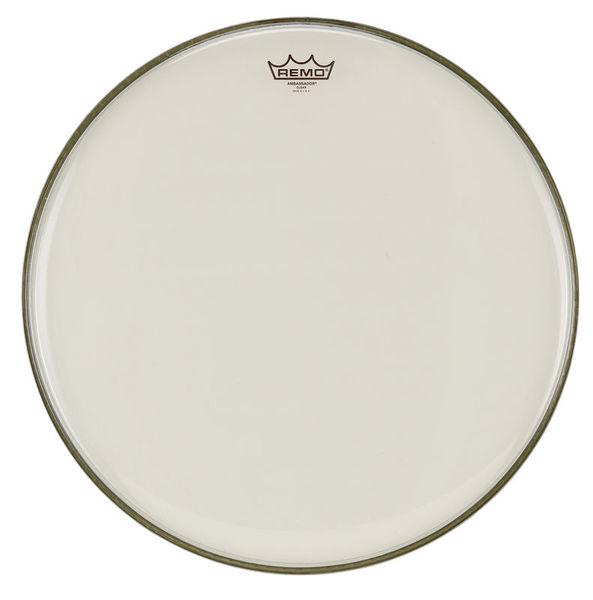 "Remo 20"" Ambassador Clear Bass Drum"