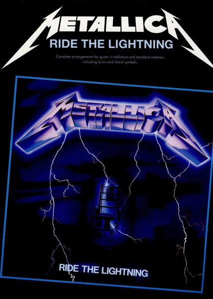 Music Sales Metallica Ride The Lightning