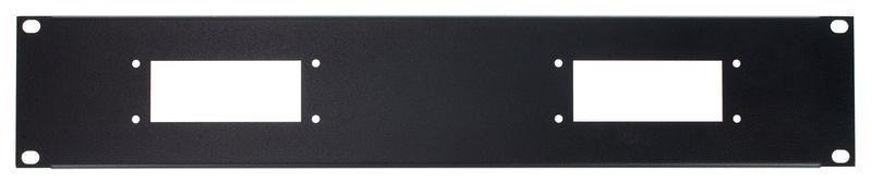 Thon Rack Panel 2U 2x Harting-B16