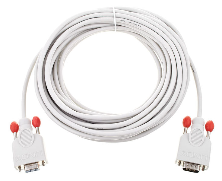 Lindy RS232 Cable 9pin St/Kpl 10m
