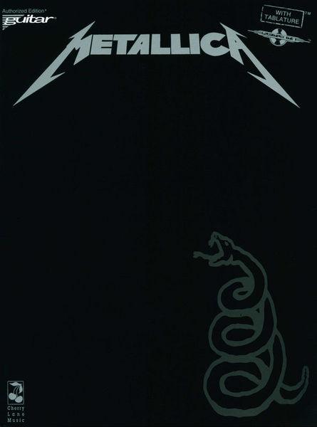 Cherry Lane Music Company Metallica Black Album Guitar